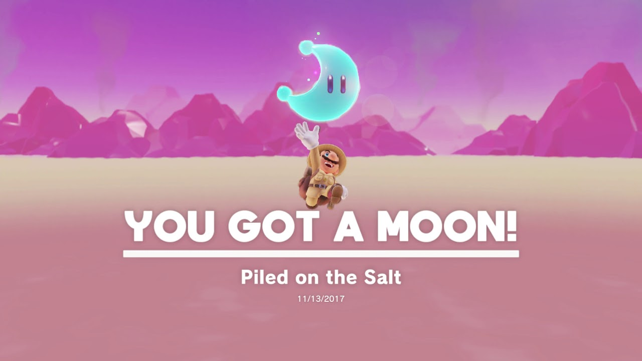 Super Mario Odyssey | Piled on the salt