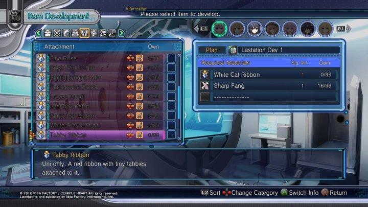 Megadimension Neptunia VII | Tabby Ribbon