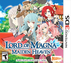 Lord of Magna: Maiden Heaven | box art