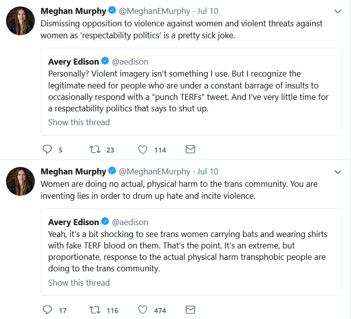 Meghan Murphy | Hypocrisy