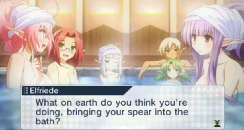 Lord of Magna: Maiden Heaven | Spear in the Bath