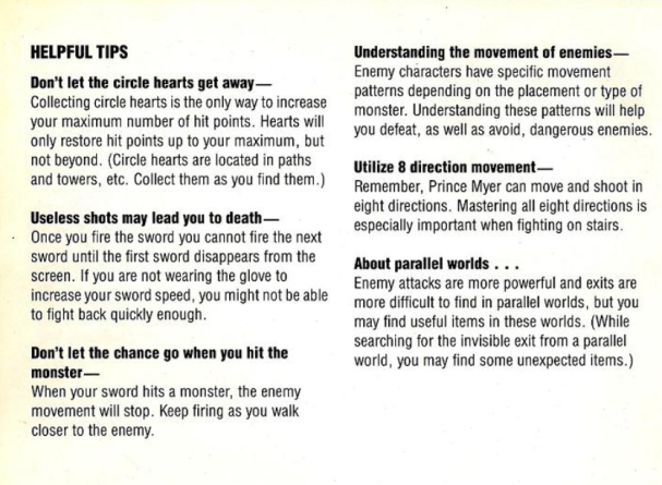 Deadly Towers | Helpful tips