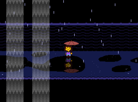 Undertale | Waterfall Reflection