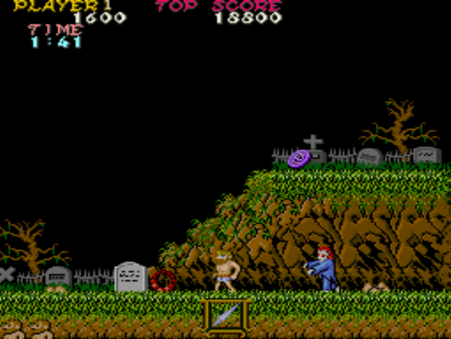 Standard Review: Ghosts 'n Goblins (Arcade/C64/ZX/NES/Amiga