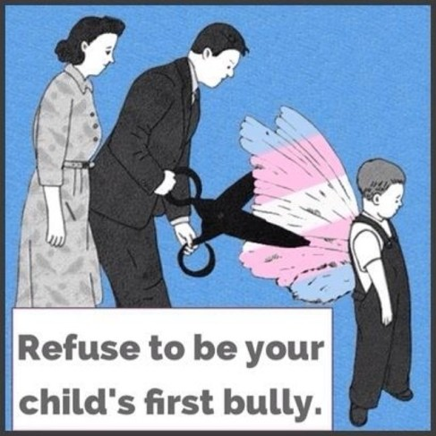 Refuse to be your child's first bully