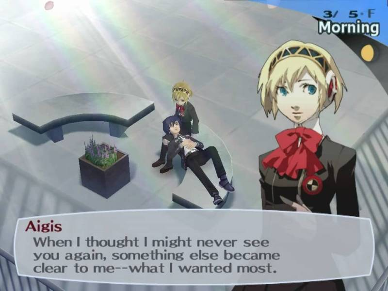 Persona 3 | What I wanted most