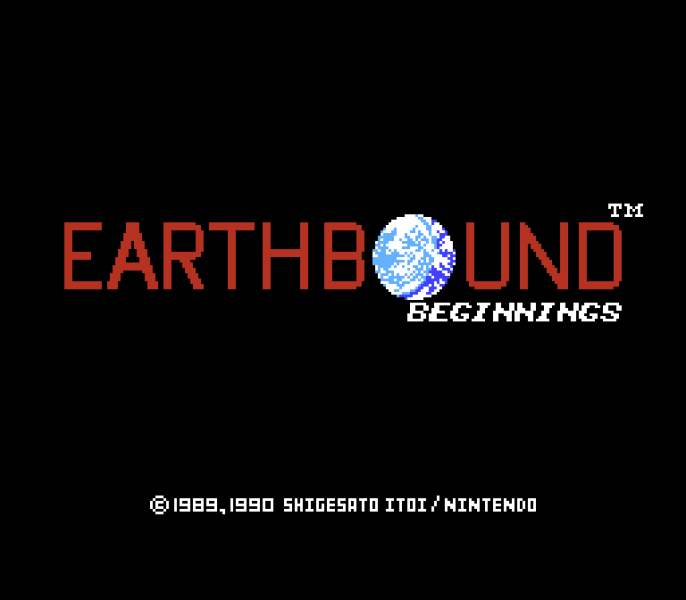 Earthbound Beginnings | Title