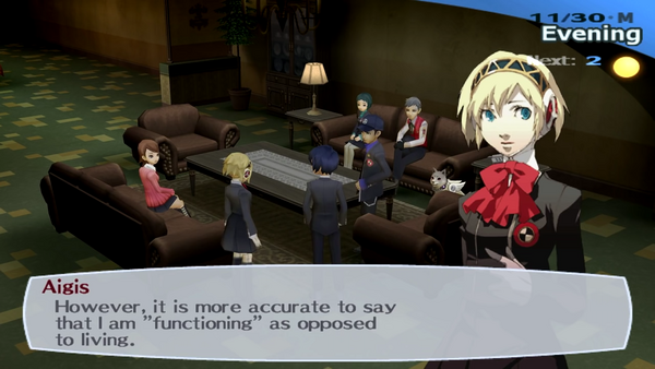 Persona 3 | functioning