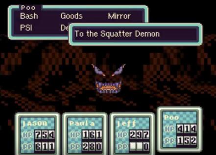 EarthBound   Squatter Demon