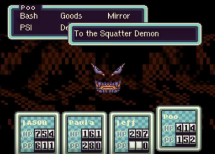 EarthBound | Squatter Demon