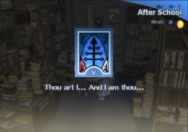 Persona 3 | Thou art I and I am thou