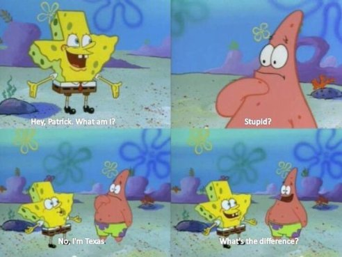 Spongebob | Texas
