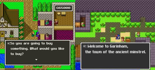 Dragon Quest | Dragon Quest V comparison