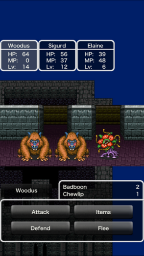 Dragon Quest II | Badboons