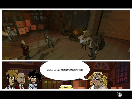 Penny Arcade Adventures Episode One   Don't Touch the Hair