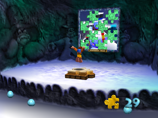 Banjo-Kazooie | Freezeezy peak entrance