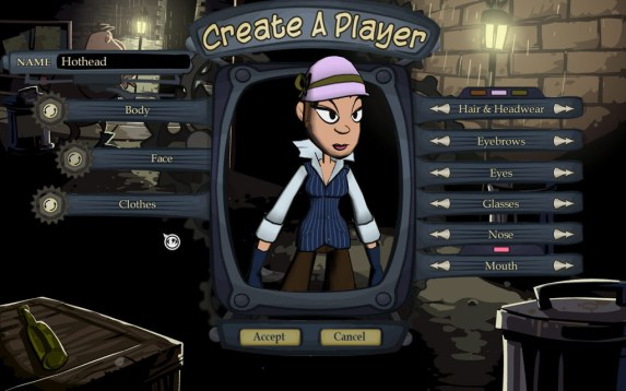 Penny Arcade Adventures Episode One   Player Character