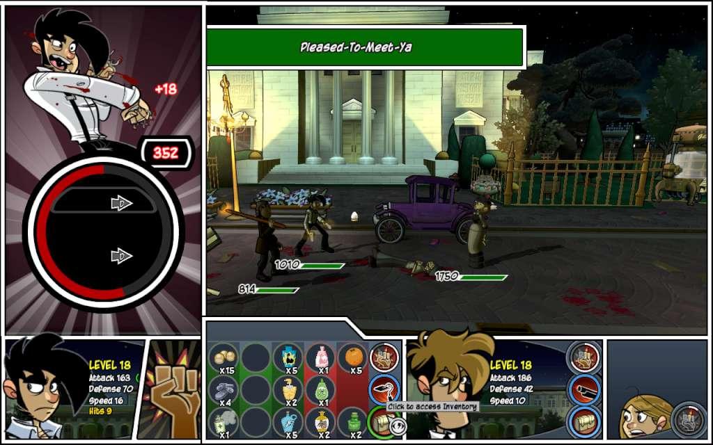 Penny Arcade Advenutes: Episode Two   Action commands