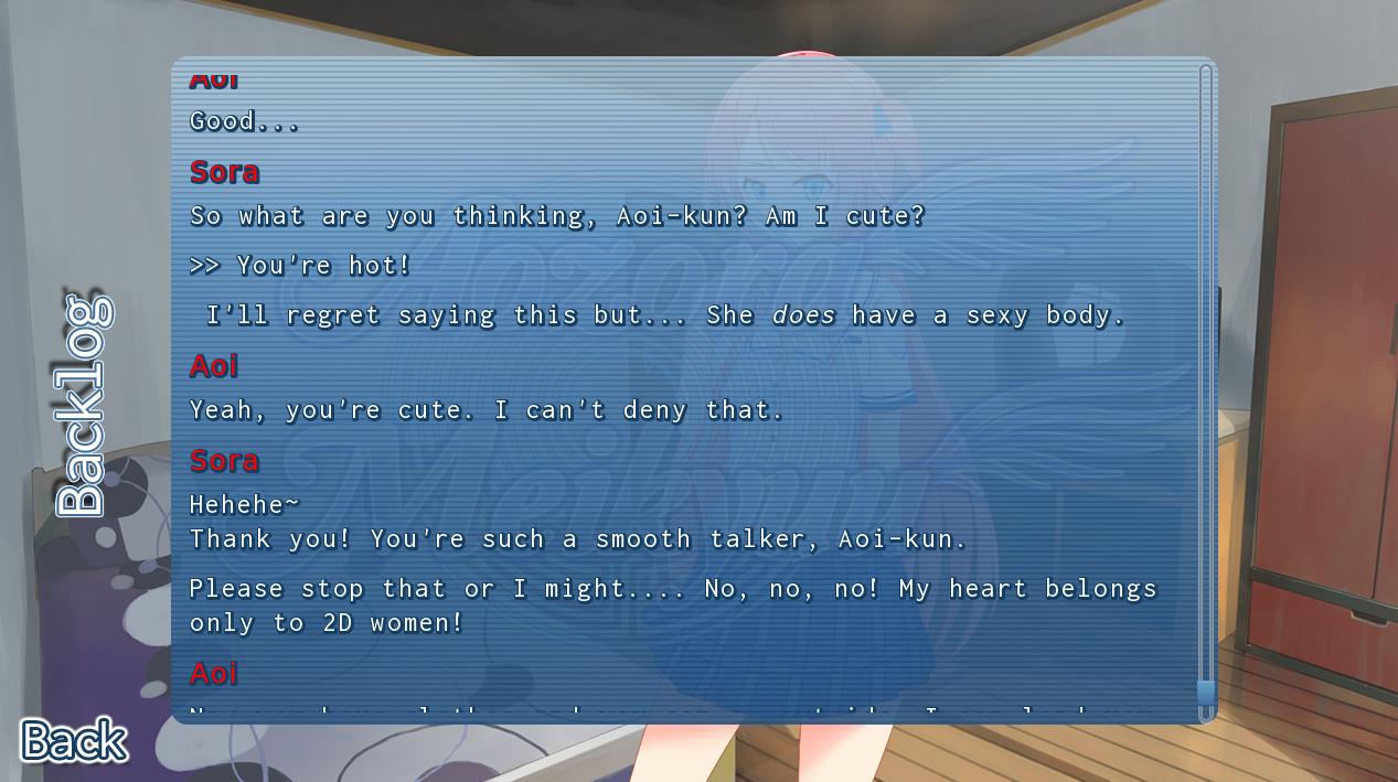 Aozora Meikyuu   heart only belongs to 2D women