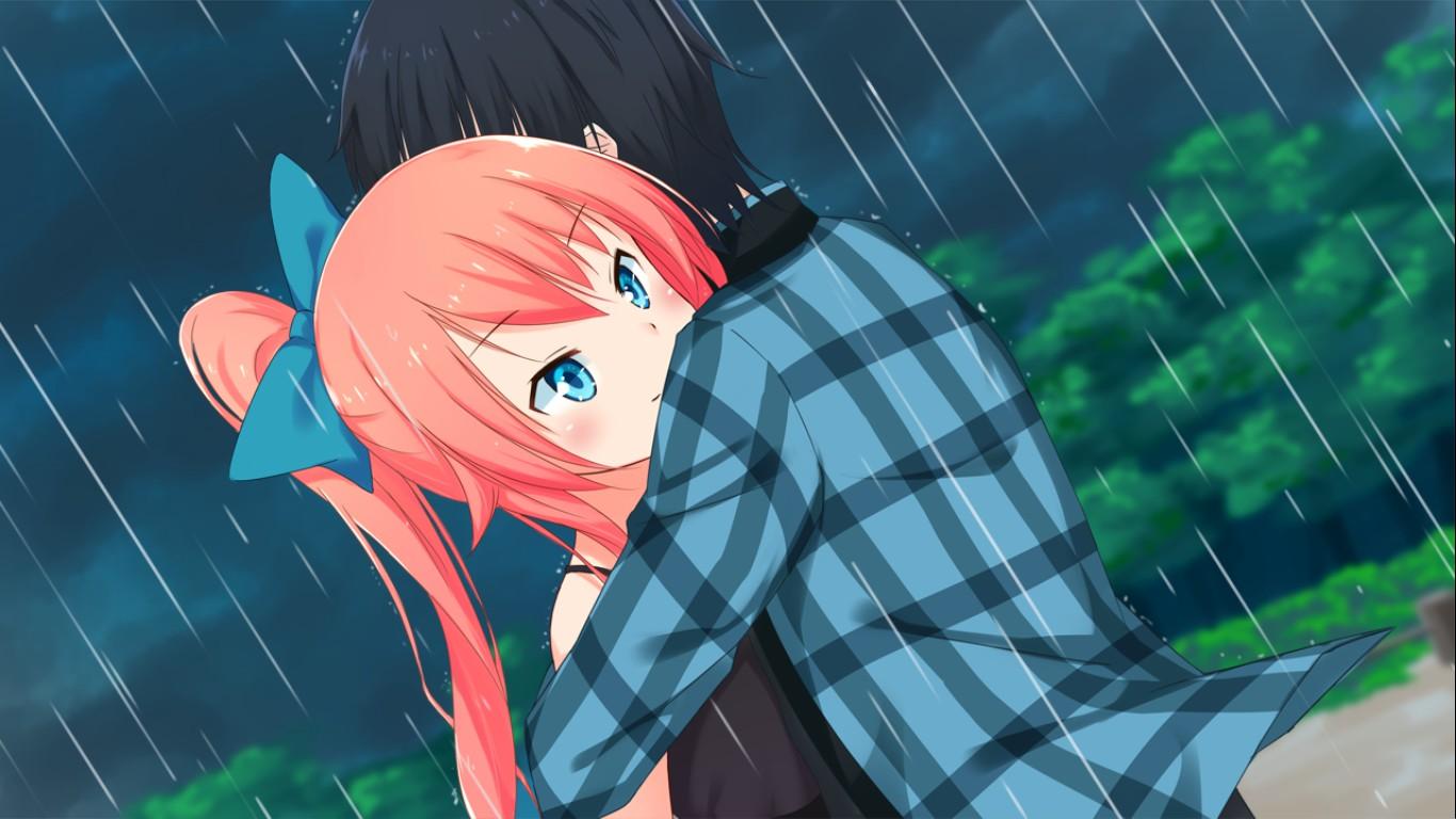 Aozroa Meikyuu   Cute hug