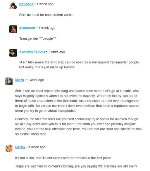 Oprainfall transphobia