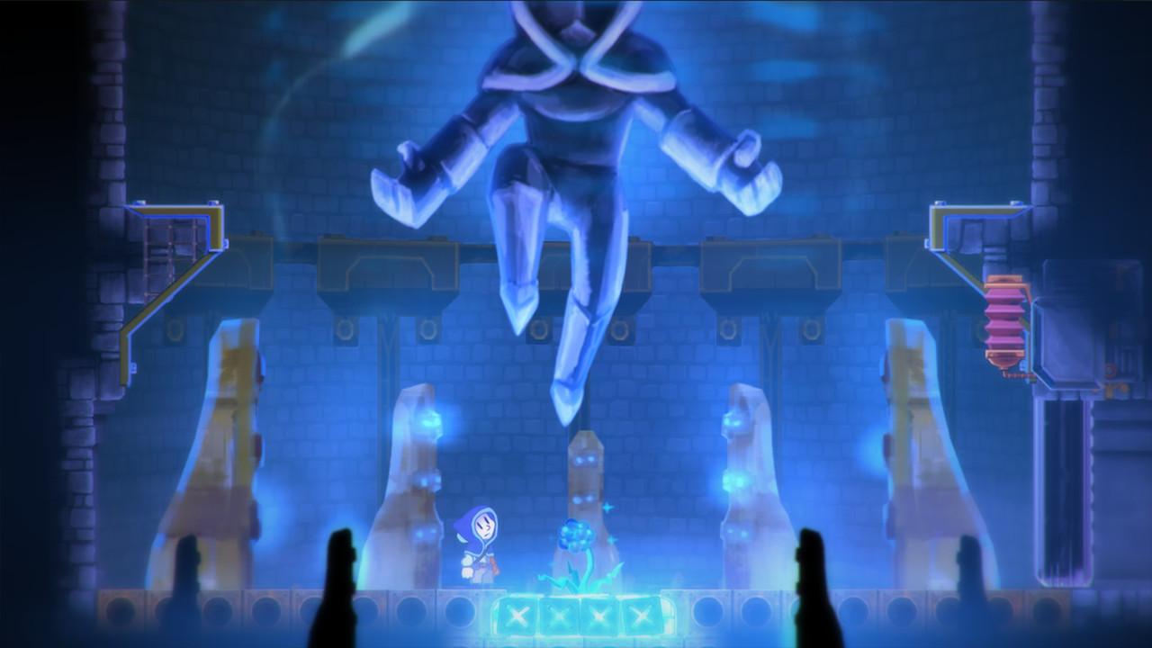 Teslagrad | blue room