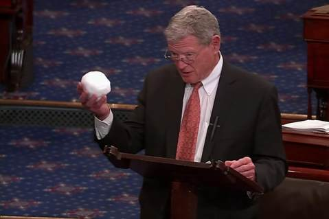 Jim Inhofe Snowball