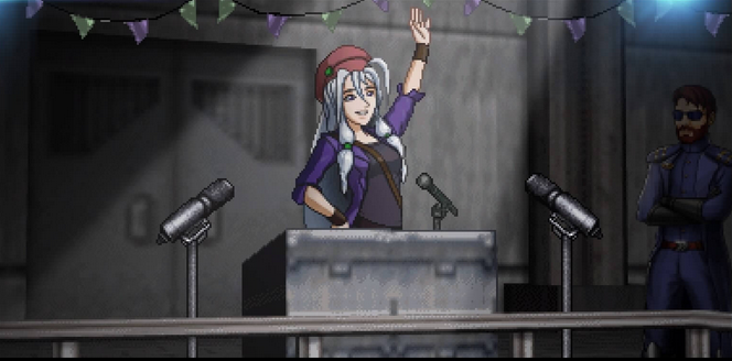 Cosmic Star Heroine | Alyssa speech