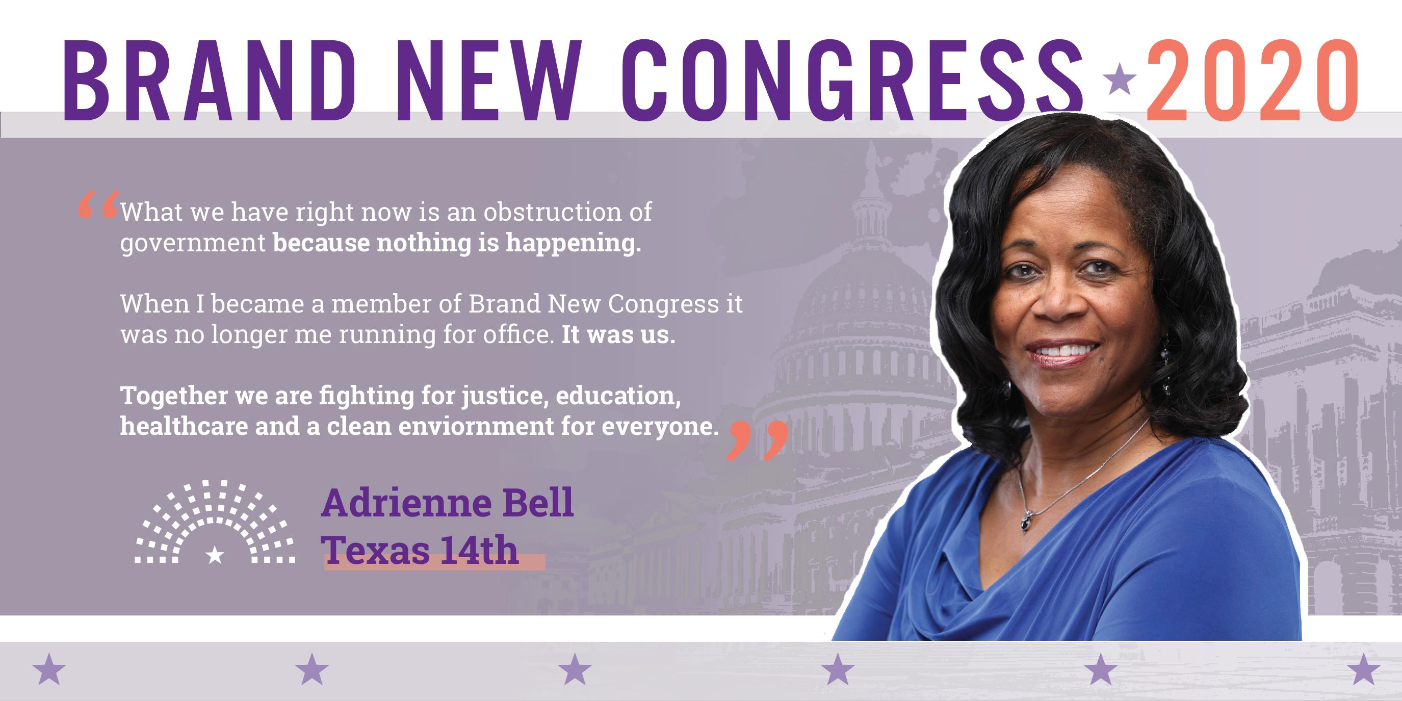 Adrienne Bell Brand New Congress