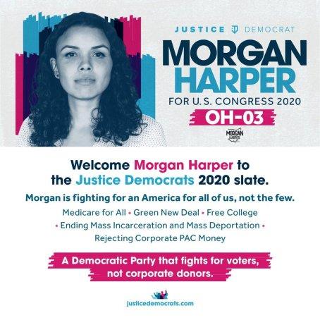 Morgan Harper | Justice Democrats endoresment
