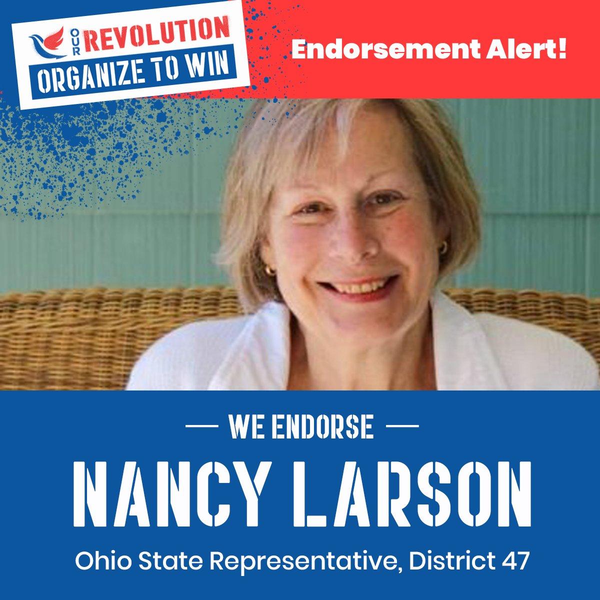 Nancy Larson | Our Revolution