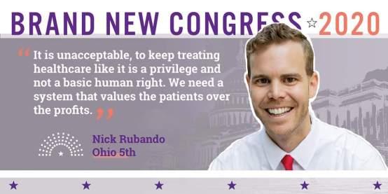 Nick Rubando | Brand New Congress