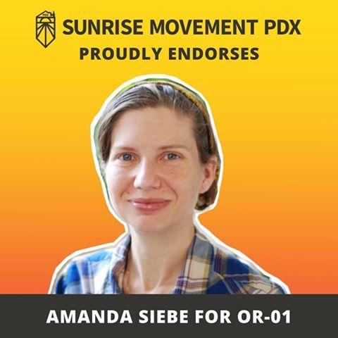 Amanda Siebe | Sunrise Movement PDX