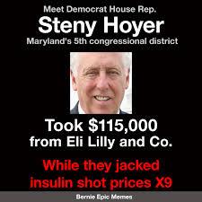 Steny Hoyer Insulin