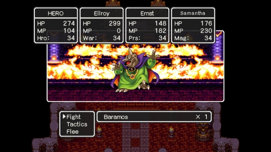 Dragon Quest III | Baramos