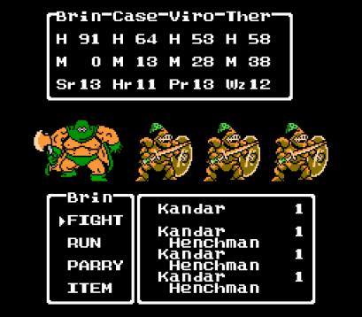 Dragon Quest III   Kandar