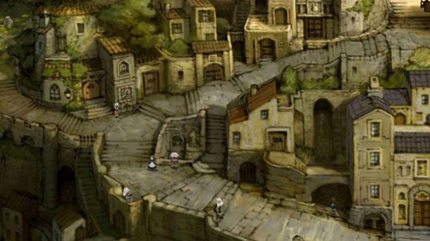 Bravely Default | town