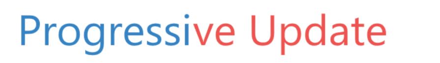 Progressive Update logo